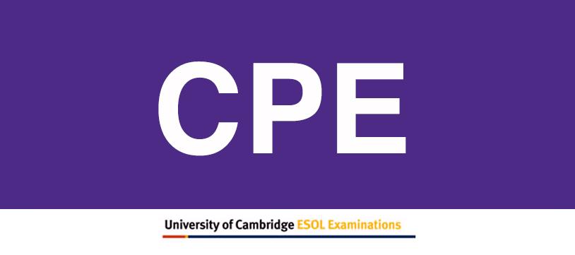 Examen Proficiency CPE