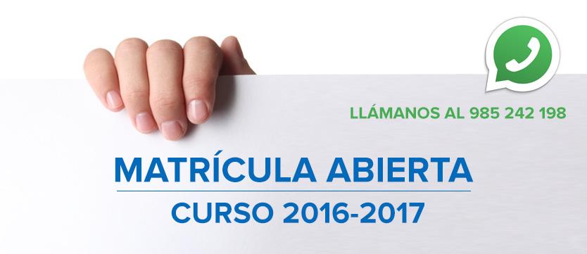 ¡Matrícula abierta para clases de inglés! · Albion School Oviedo